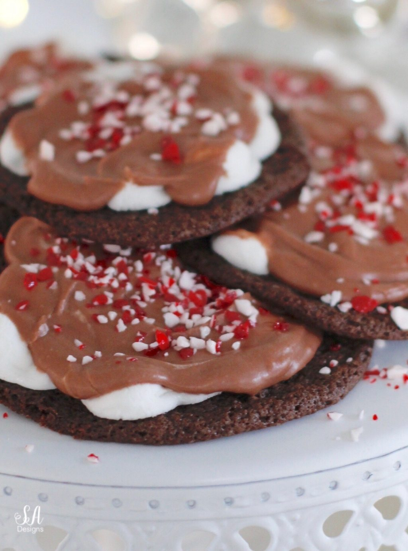 Ooey Gooey Chocolate Marshmallow Cookie Recipe Summer Adams