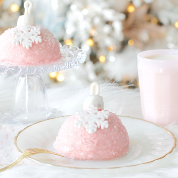 Individual Ornament Cakes: Recipe & Instructions