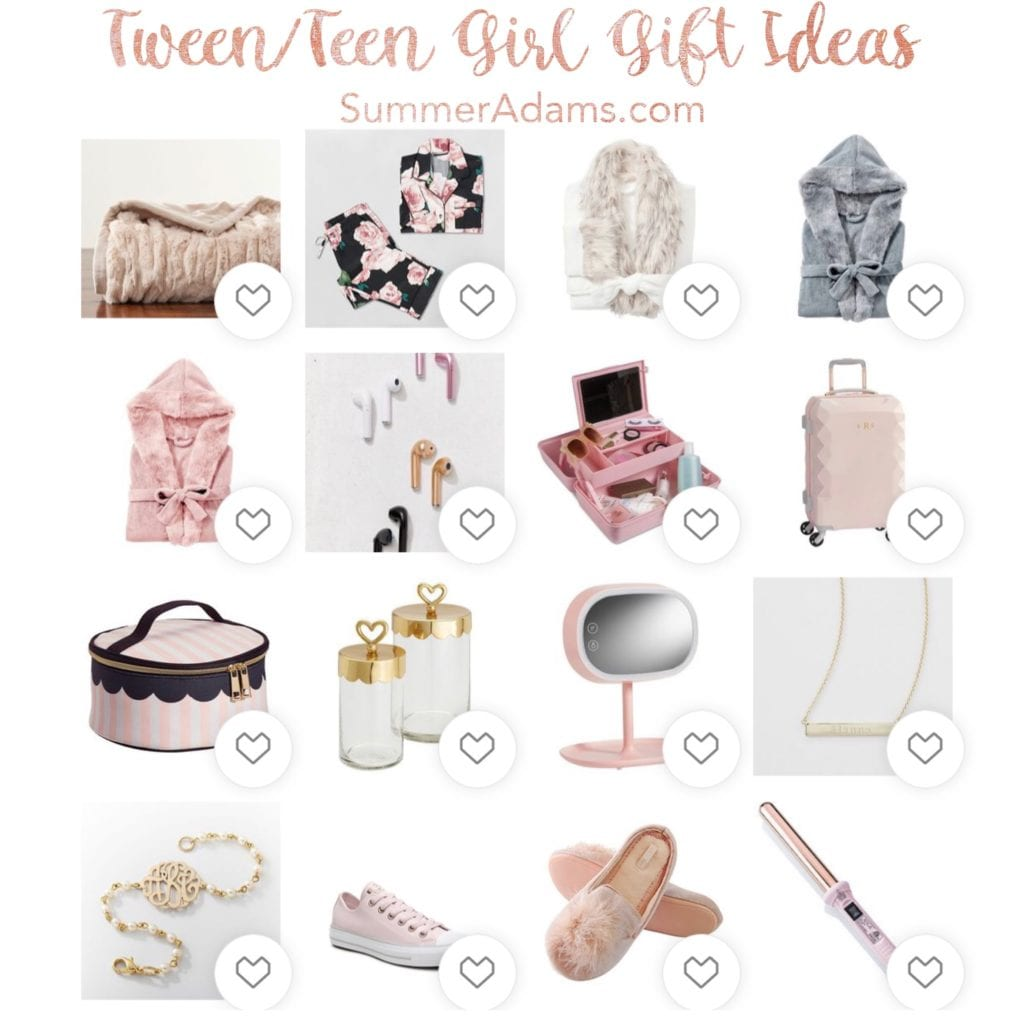 gift guide for teen tween girls, christmas gift ideas tween teen girls