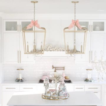 Whimsical Christmas Kitchen In Pastels