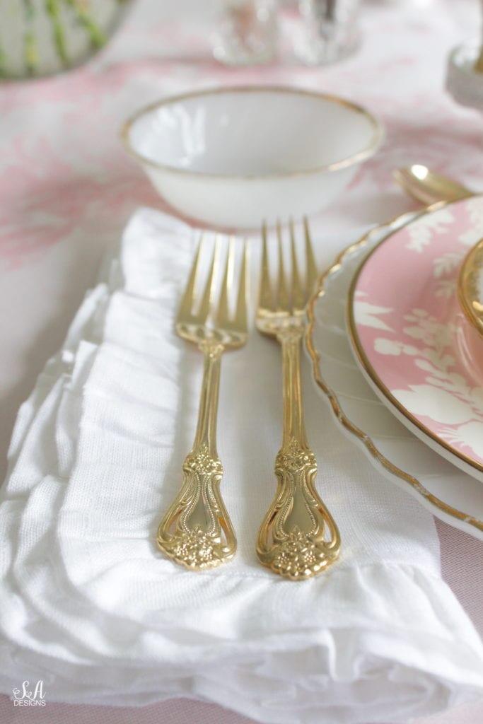 vintage goldware