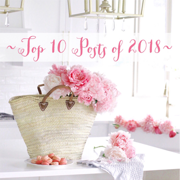 Top 10 Blog Posts of 2018 – Interiors, Fashion & Lifestyle