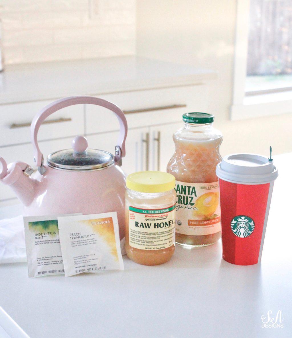 "Copycat Starbucks ""Citrus Defender"" Tea"