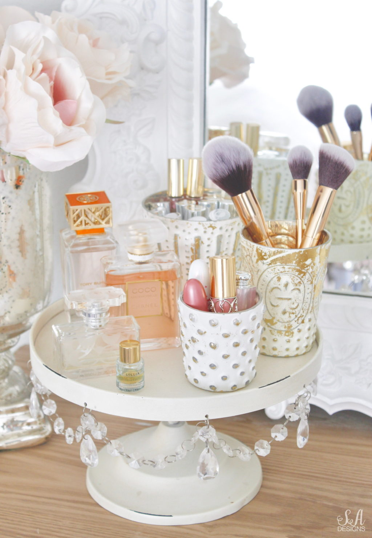 Tips To Organize Amp Style An Elegant Vanity 1 Summer Adams