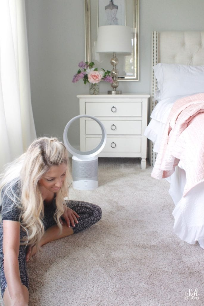 morning stretching quiet time yoga, summer adams interior design, classy interior bedroom design, blush quilt