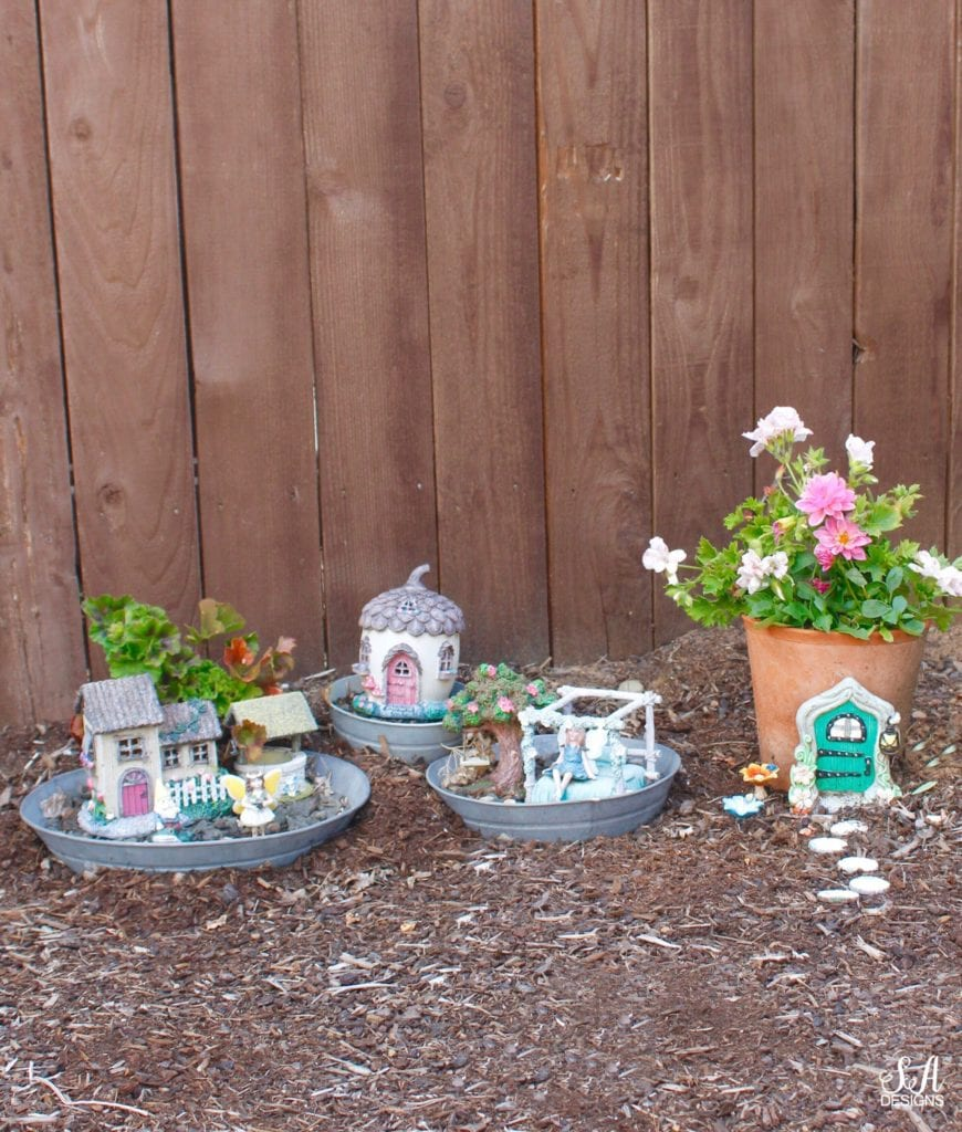 fairy garden outdoors