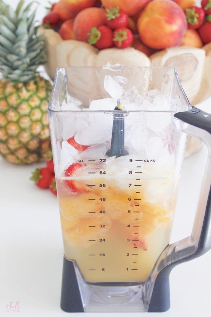 Ninja blender, frozen summer drinks, virgin frozen drinks