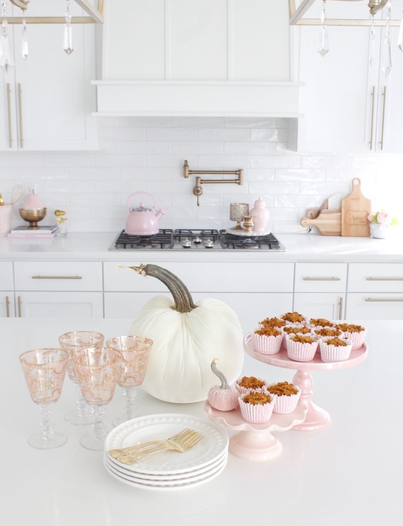 pink mixing bowls, pink cuisinart hand mixer, pink cake stand, Keto pumpkin recipes, pink kitchen accessories, pink kitchen utensils, pumpkin recipes, pumpkin pie, pumpkin streusel, pumpkin dessert jar recipe, pumpkin cake, pumpkin cinnamon rolls, pumpkin donuts, pumpkin smoothie bowls, white velvet pumpkin, patina vie blush pink bellisimo goblet, white velvet hot skwash pumpkin, pink muffin cupcake liners grease-proof, white kitchen design, glam kitchen, elegant fall decor, elegant fall food presentation, Keto fall food recipes